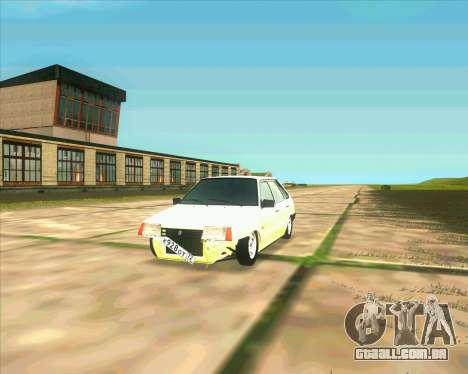 VAZ 2109 BUNKER para GTA San Andreas