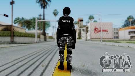 S.W.A.T v1 para GTA San Andreas terceira tela
