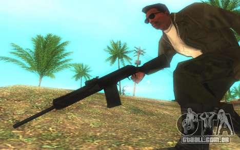 Saiga-12 Gauge para GTA San Andreas terceira tela