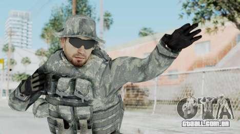 Acu Soldier 7 para GTA San Andreas