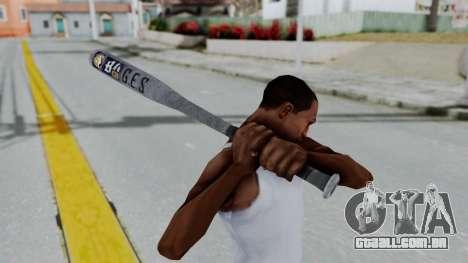 GTA 5 Baseball Bat 6 para GTA San Andreas terceira tela