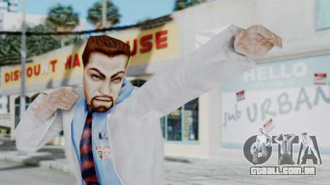 Gordon Freeman Scientist From HL Blue Shift para GTA San Andreas