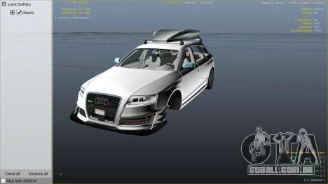 Audi RS6 Avant C6 2009 para GTA 5