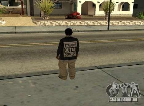 ballas3 [straight outta Compton] para GTA San Andreas segunda tela