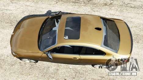 GTA 5 BMW M235i Coupe voltar vista