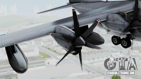 KC-130J Harvest Hawk para GTA San Andreas vista direita