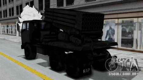 FAP Vojno Vozilo para GTA San Andreas esquerda vista