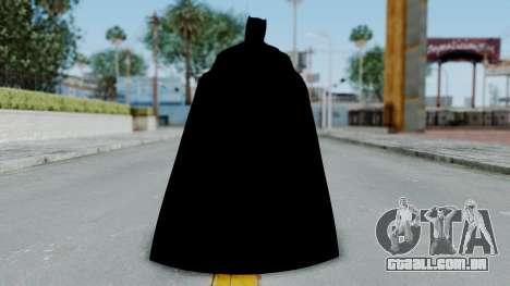 BvS Dawn of Justice - Batman para GTA San Andreas terceira tela