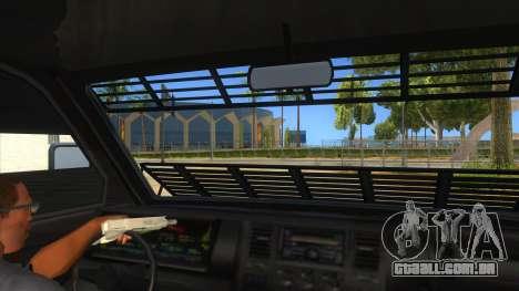 GTA 5 Burrito Transport para GTA San Andreas vista interior