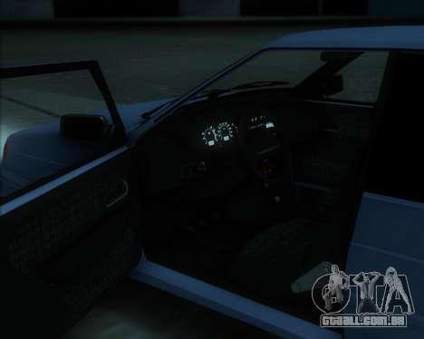 2114 para GTA San Andreas esquerda vista
