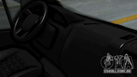 Fiat Ducato Pickup para GTA San Andreas vista direita