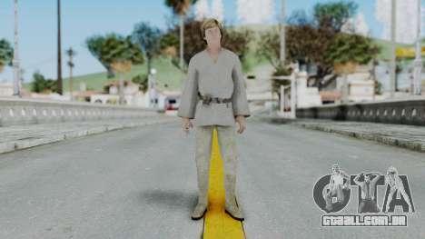 SWTFU - Luke Skywalker Tattoine Outfit para GTA San Andreas segunda tela