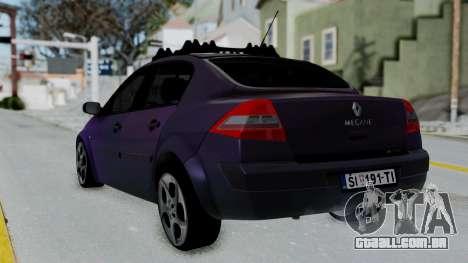 Renault Megane II para GTA San Andreas esquerda vista