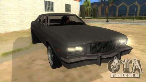 Ford Gran Torino Drag para GTA San Andreas vista traseira