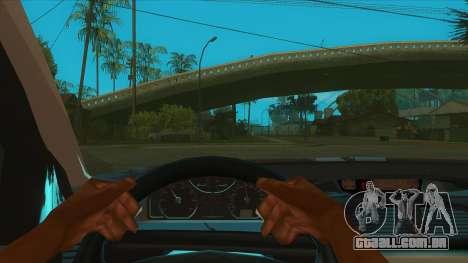 Renault Laguna Mk2 Superior Velocidade Do Auto Š para GTA San Andreas vista interior