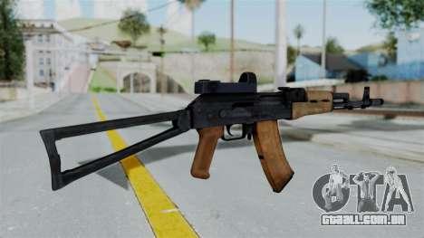 Arma2 AKS-74 Cobra para GTA San Andreas segunda tela