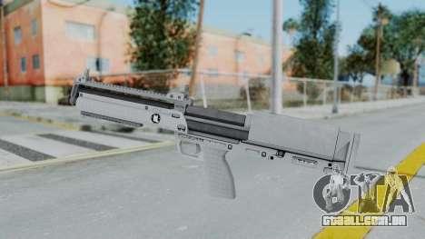 GTA 5 Bullpup Shotgun - Misterix 4 Weapons para GTA San Andreas segunda tela