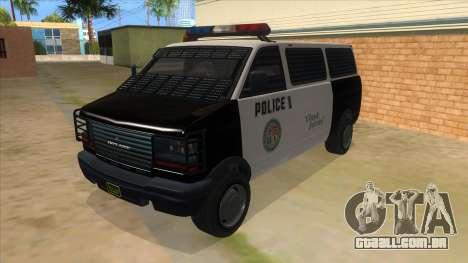 GTA 5 Burrito Transport para GTA San Andreas