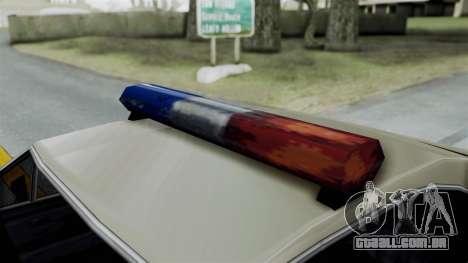 Police Clover para GTA San Andreas vista direita