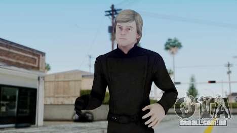 SWTFU - Luke Skywalker Jedi Knight para GTA San Andreas