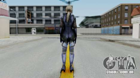 Jill Valentine Battlesuit Closed RE5 para GTA San Andreas terceira tela