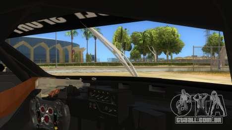 Renault Sport RS 01 INTERCEPTOR para GTA San Andreas vista interior