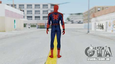Civil War Spider-Man para GTA San Andreas terceira tela