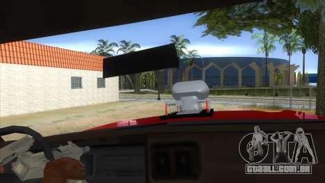 1974 Dodge Monaco Monster Truck para GTA San Andreas vista interior