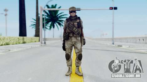 Crysis 2 US Soldier 4 Bodygroup B para GTA San Andreas segunda tela