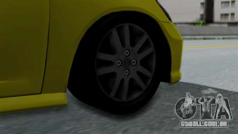 Honda Accord Vtec2 Stock para GTA San Andreas traseira esquerda vista
