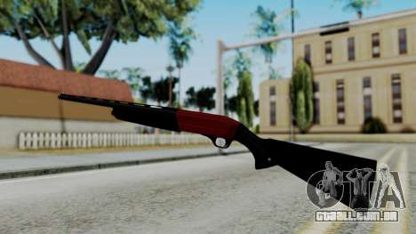 No More Room in Hell - Winchester Super X3 para GTA San Andreas terceira tela