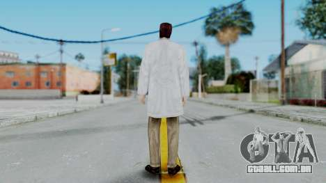 Gordon Freeman Scientist From HL Blue Shift para GTA San Andreas terceira tela