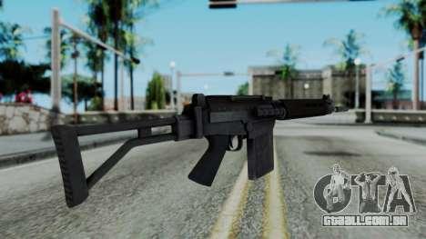 Arma 2 FN-FAL para GTA San Andreas segunda tela