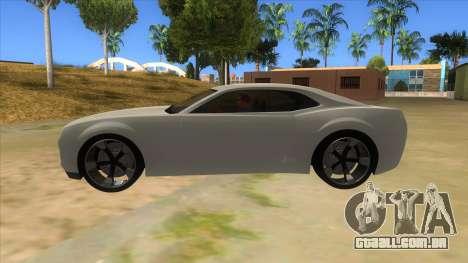 Chevrolet Camaro DOSH tuning MQ para GTA San Andreas esquerda vista