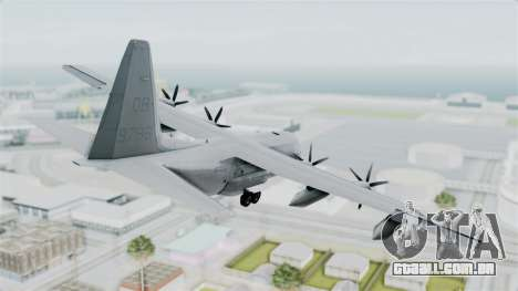KC-130J Harvest Hawk para GTA San Andreas esquerda vista