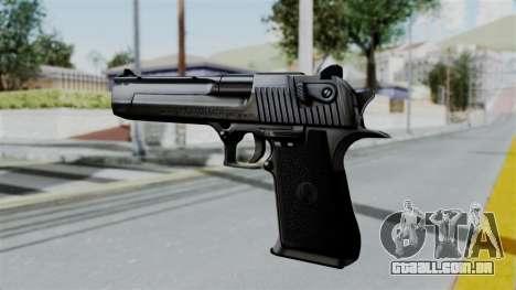 GTA 5 Desert Eagle para GTA San Andreas terceira tela