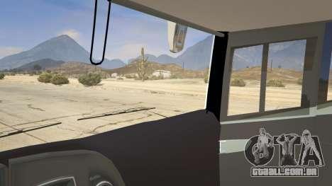 GTA 5 Marcopolo Paradiso 1800 traseira direita vista lateral