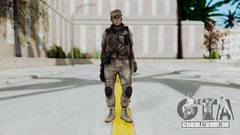 Crysis 2 US Soldier 5 Bodygroup B para GTA San Andreas segunda tela