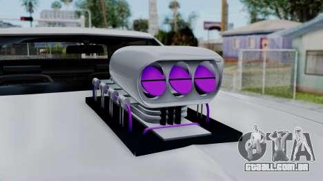 Ford Gran Torino Monster Truck para GTA San Andreas vista direita