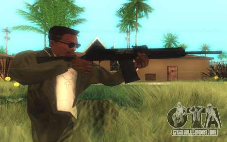 Saiga-12 Gauge para GTA San Andreas segunda tela