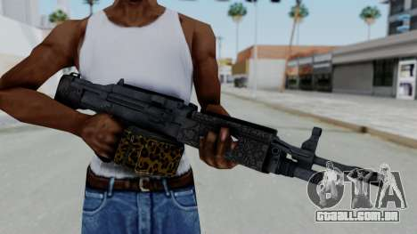 GTA 5 Online Lowriders DLC Combat MG para GTA San Andreas terceira tela
