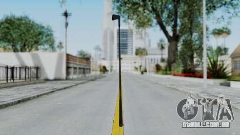 GTA 5 Golf Club para GTA San Andreas segunda tela