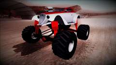 GTA 5 Hotknife Monster Truck para GTA San Andreas