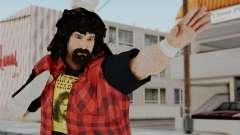 WWE Mick Foley para GTA San Andreas