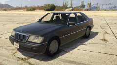Mercedes-Benz S600 (W140) [Replace] v1.1