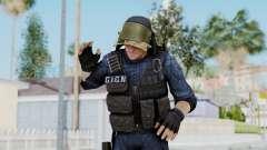 GIGN 2 No Mask from CSO2 para GTA San Andreas