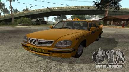GAZ 31105 Volga Táxi FIV para GTA San Andreas
