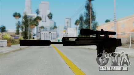 SCAR-20 v2 Folded para GTA San Andreas