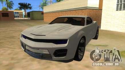 Chevrolet Camaro DOSH tuning MQ para GTA San Andreas