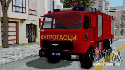 FAP Serbian Fire Truck para GTA San Andreas